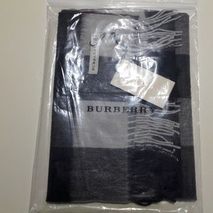 BURBERRY SCARF GRAY & RED UNİSEX